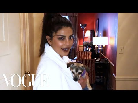 Priyanka Chopra Pulls an Angelina Jolie Fashion Moment at Her First Met Gala | Met Gala 2017