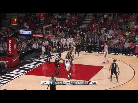 CJ McCollum 31 PTS & 5 AST | Nets vs Blazers | 3.4.17 | 16-17 NBA Season