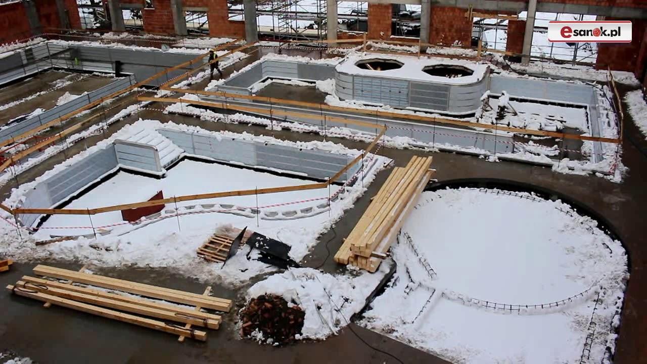 SANOK: Prace wykonane w 30 %. Raport z budowy basenów (FILM, ZDJĘCIA)