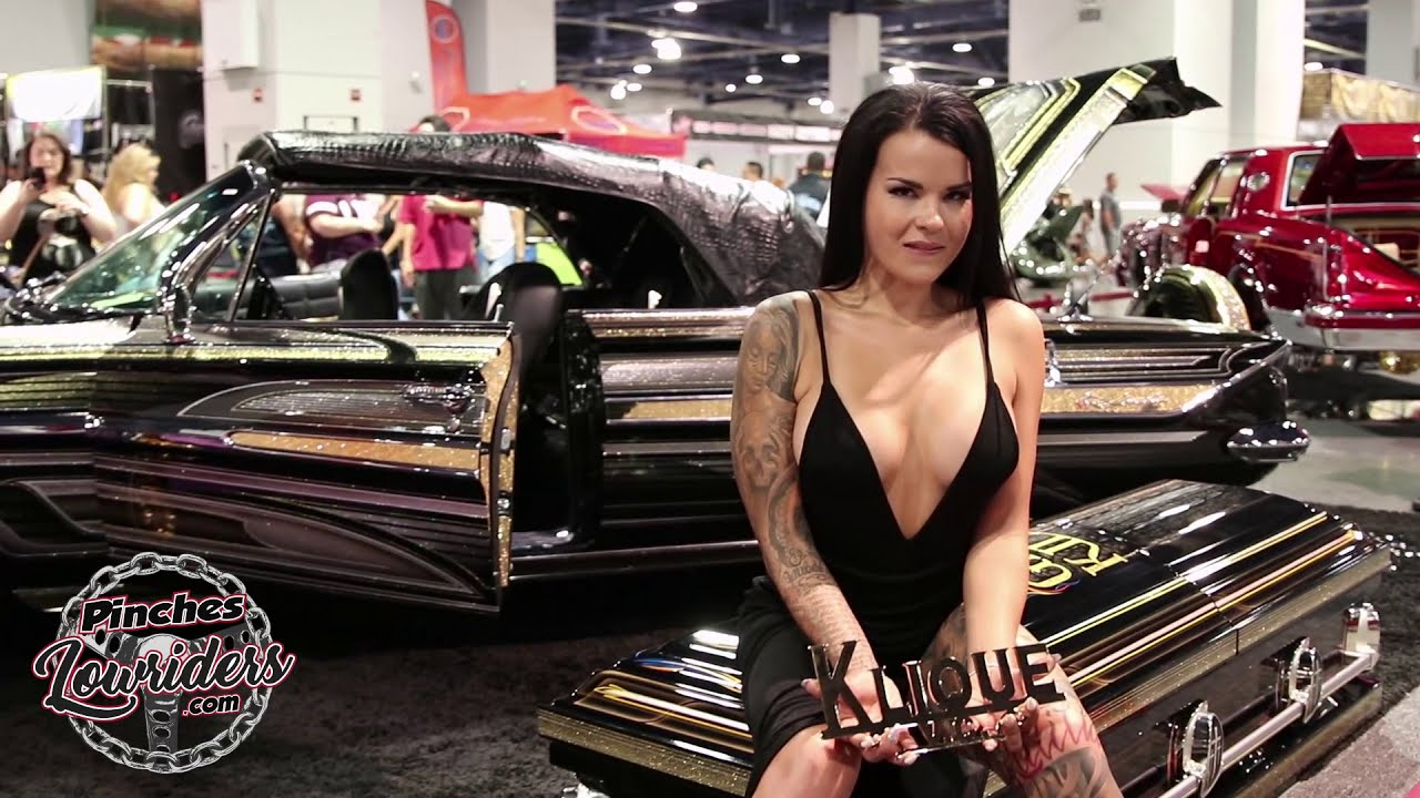 Some of the Models at the Las Vegas Super Show 9/9/2018