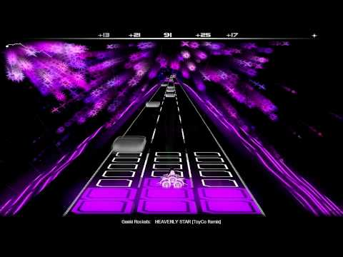 Audiosurf: Genki Rockets - HEAVENLY STAR [ToyCo Remix] HD