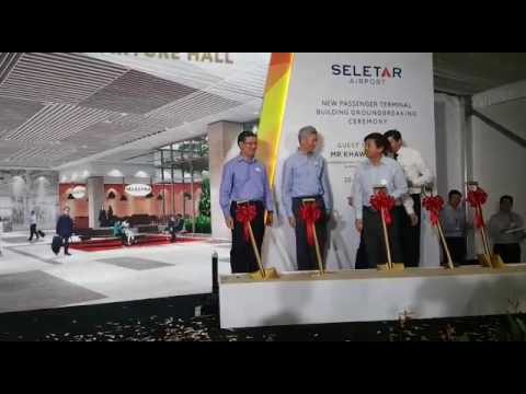 Groundbreaking ceremony for new Seletar Airport