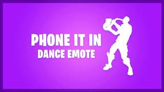"Fortnite Emote ""Phone It In"" FIRE ASF Banger 🔥🔥🔥 