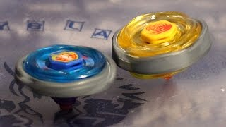 Beyblade Metal Fusion Storm Pegasus 105RF vs Earth Virgo GB145BS!