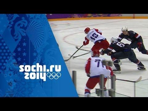 Ice Hockey - Men's Group A - USA v Russia | Sochi 2014 Winter Olympics