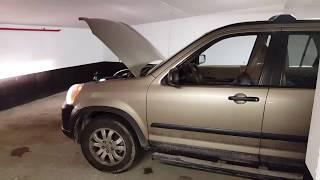 Honda CR-V 2006 Регулировка фар / light adjustment