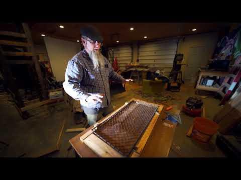 DIY frame ideas using reclaimed wood in Detroit 8 of 9