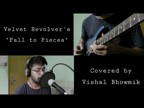 "''Fall to Pieces""' cover… By Vishal Bhowmik…Slash's Solo Cover…"