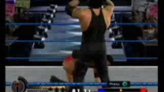 Undertaker vs. Batista Last Man Standing DoR2 Bloody pt. 3