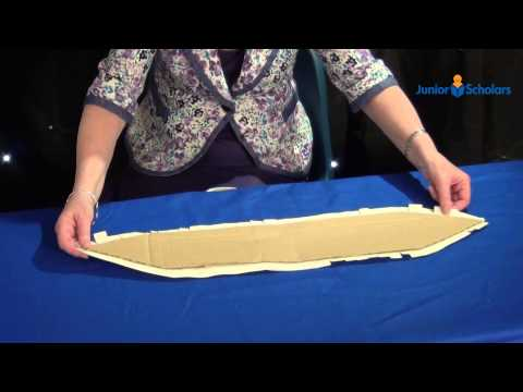 How To Make A Model Viking Ship - Junior Scholars' Crafty Videos