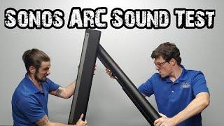 Sonos ARC Soundbar Review & Sound Test   Sonos ARC vs Playbar