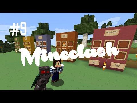 MINECRAFT YOUTUBER CHALLENGE - MINECLASH (EP.9)