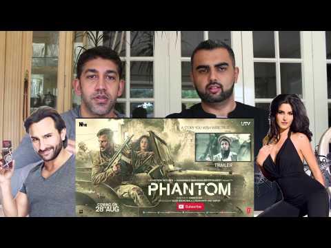 Phantom Trailer Reaction | Saif Ali Khan & Katrina Kaif
