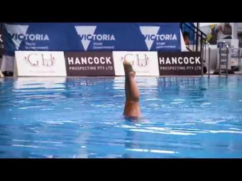 Jemma Singleton - Golden Fish Synchronised Swimming Club