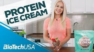 Kiss Virág bemutatja: Protein Ice Cream fagylaltpor fehérjével - BioTechUSA