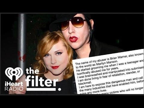 Evan Rachel Wood says ex Marilyn Manson 'horrifically' abused her ...