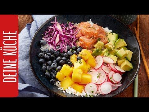 Poké Bowl mit Blaubeeren | REWE Deine Küche