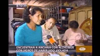 encuentran a anciana con alzheimer con signos de haber sido violada