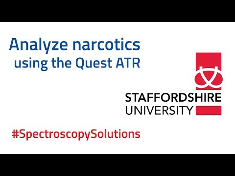 Analyzing narcotics and legal highs using the Quest ATR  | #SpectroscopySolutions