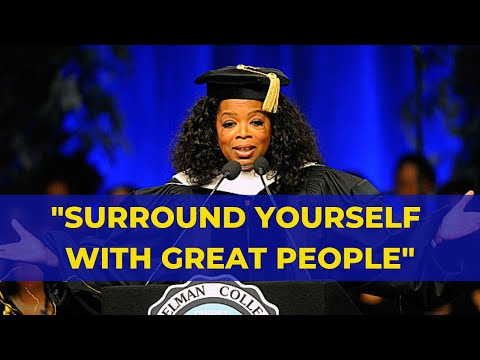 Oprah Winfrey Motivational Speech 5 minutes - You Have To Surround Yourself With Great People