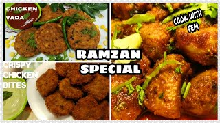 Ramzan Special Delicious Chicken Fry Recipes | Chicken Vada, Chicken Bites, Crispy Chicken Fry ,