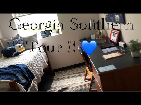 Georgia Southern CAMPUS TOUR! VLOG