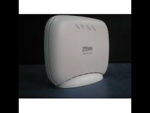 the zte zxv10 w300 wifi configuration the