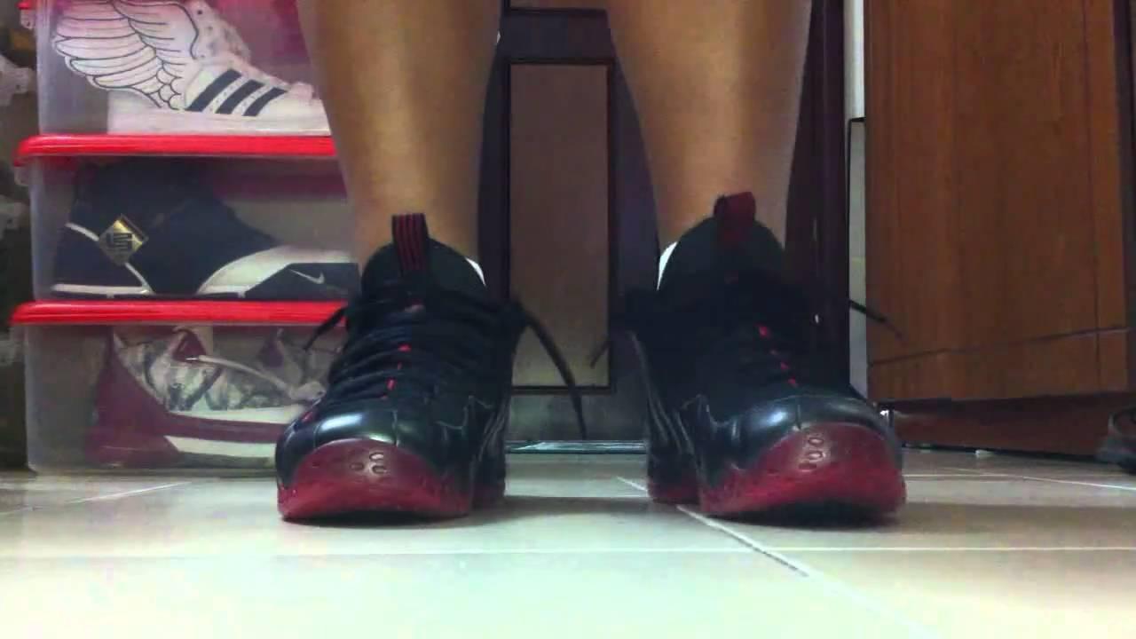Cough Drop Foamposites On Feet Nike Foamposite Varsit...