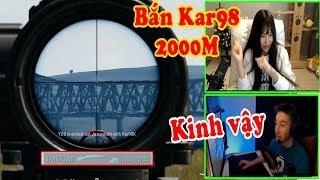 PUBG Highlight | Pha bắn Kar98 ở khoảng cách 2000M quá bá đạo - Hạnh phúc khi bị chocoTaco giết