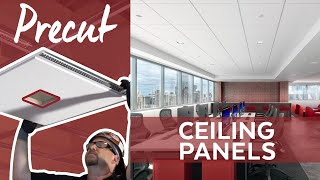 Ceiling Panels Designed for Recessed Lighting | Precut Ceiling Panels | Armstrong Ceilings