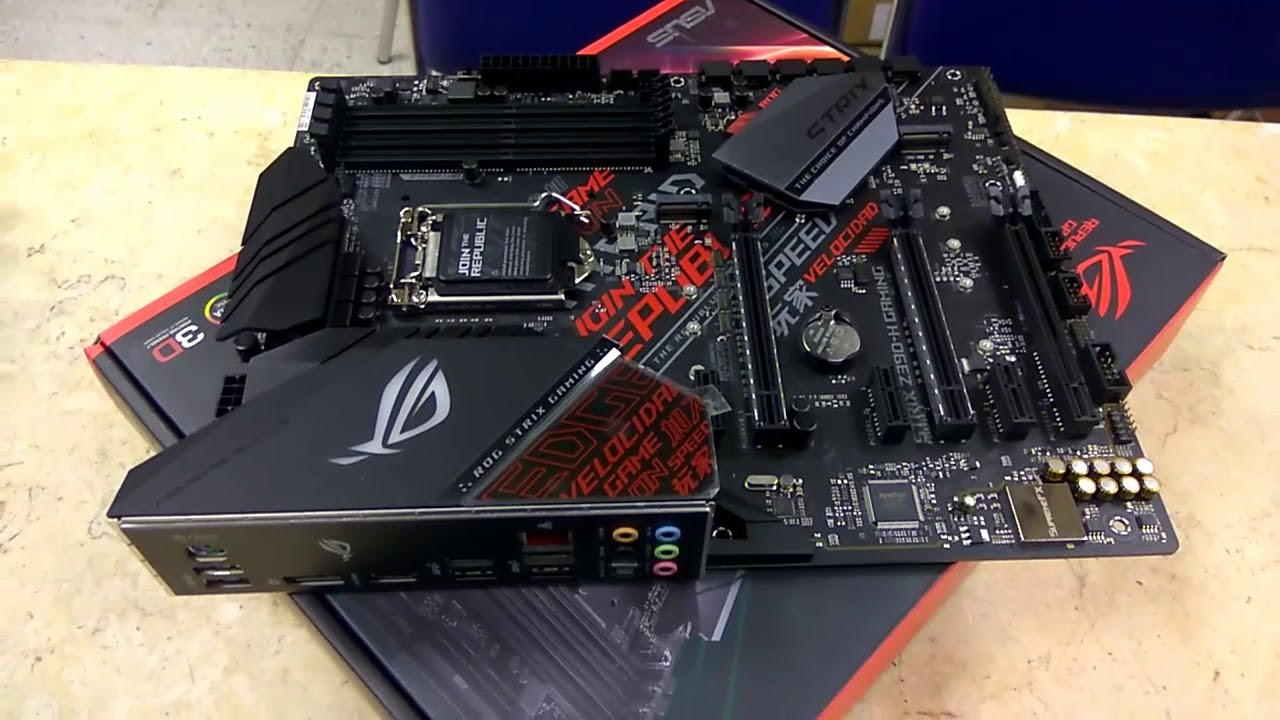 ROG STRIX Z390 H GAMING UNBOXING SUPPORTED 8TH GEN 9TH GEN |TECH LAND