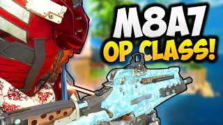 "How To Make ""OVERPOWERED M8A7"" CLASS SETUP! [Black Ops 3 OP M8A7!] Call of Duty Gameplay"