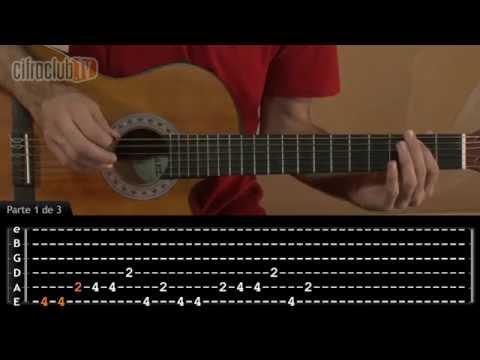 Andei Só - Natiruts (aula de violão completa)