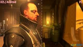 Deus Ex: The Fall - PC vs. MOBILE (Android | iOS) • comparison gameplay HD | yourapps.info
