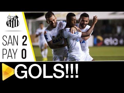 Santos 2 x 0 Paysandu | GOLS | Copa do Brasil (26/04/17)