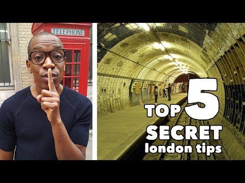 Top 5 Secret London Tips