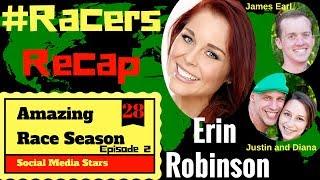 Amazing Race Season 28 Episode 2 Recap with Erin Robinson  #RacersRecap