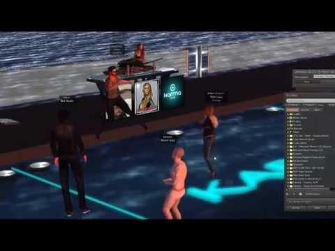 Converting real person into virtual world avatar