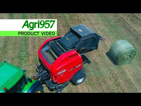 NEW KUHN ROUND BALER VB 3100 Serie ProgressiveDensity: HAY and STRAW BALING | Italian OFFICIAL VIDEO