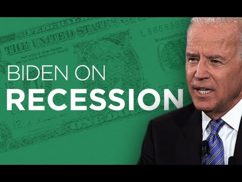 Joe Biden On The Recession | 2012 Vice Presidential Debate | Ora TV
