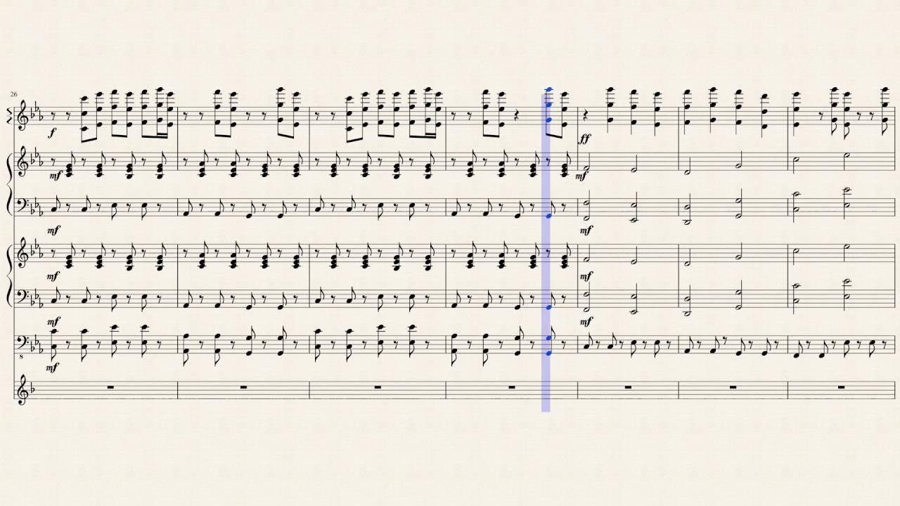 Fnaf song notes