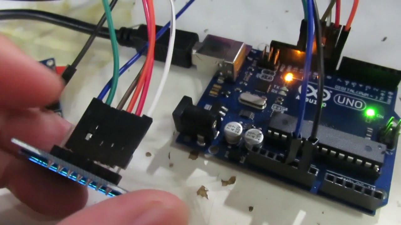 OLED Drive by U8G2 by Chow He