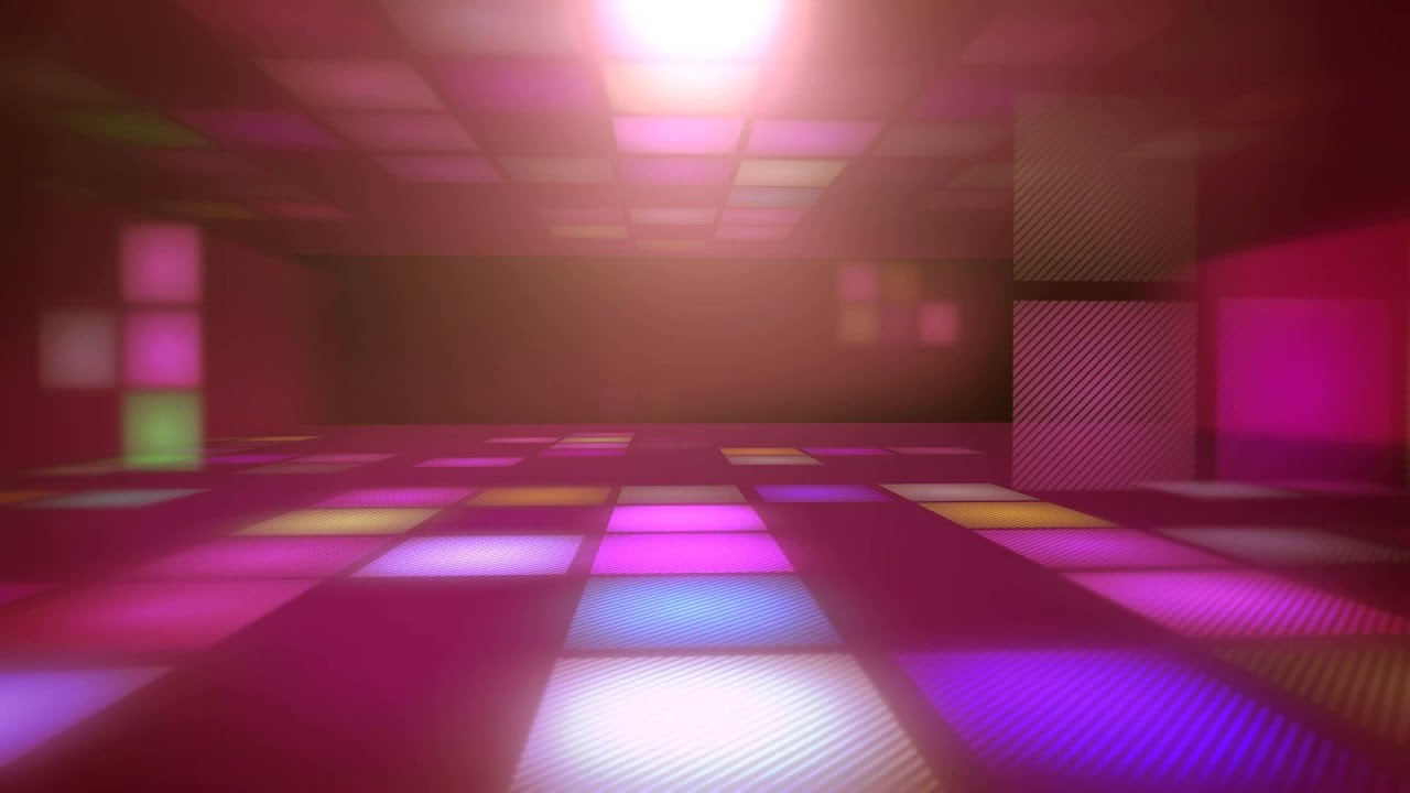Footage Background Disco Lighting