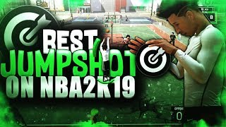The BEST JUMPSHOT on NBA2K19 - LIMITLESS GREENS with NO SHOOTING BADGES