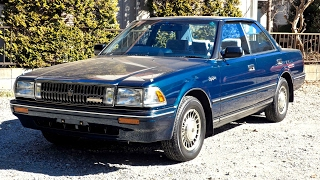 1988 Toyota Crown **Perfect Car** Supercharged 1G-GZE (USA Import) Japan Auction Purchase Review