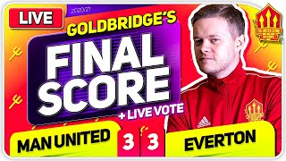 GOLDBRIDGE! Manchester United 3-3 Everton Match Reaction