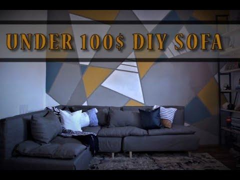Diy Sofa For Under 100 You