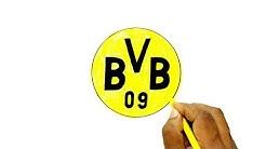 How to Draw the Borussia Dortmund Logo