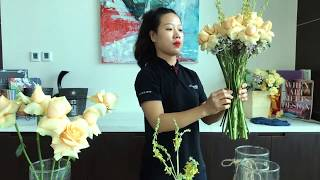 Flower Art - Live Series by Le Méridien Saigon