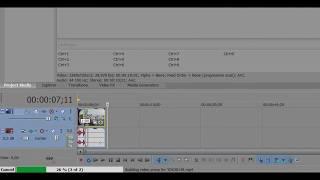 Прокси (proxy) в видеомонтаже/Sony Vegas